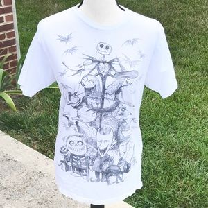 Nightmare Before Christmas Shirt Medium